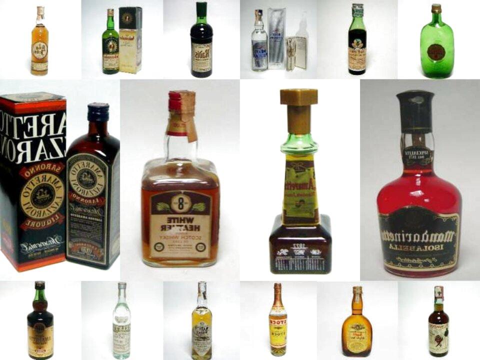 bottiglie liquori usato