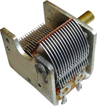condensatore variabile usato