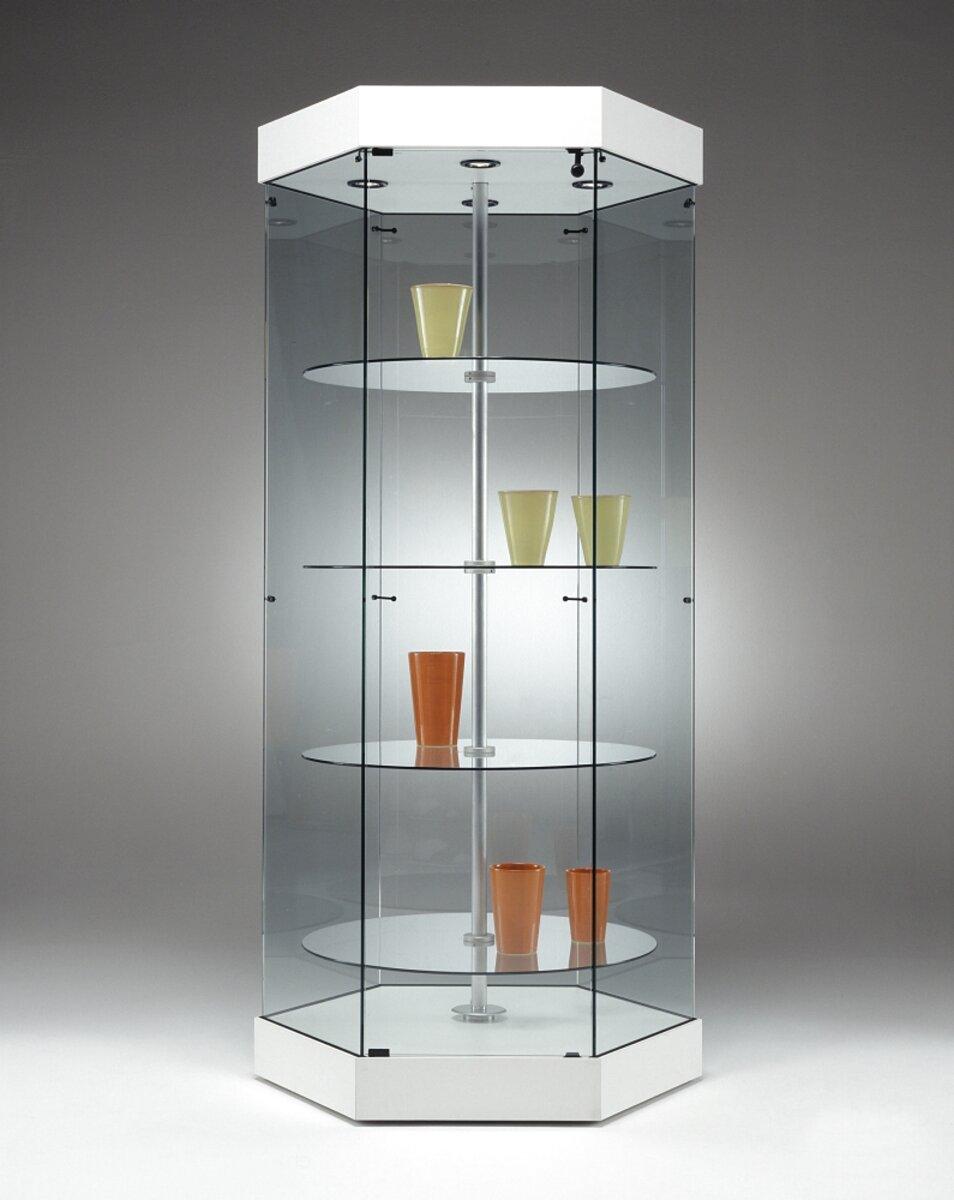 vetrina espositore vetro usato