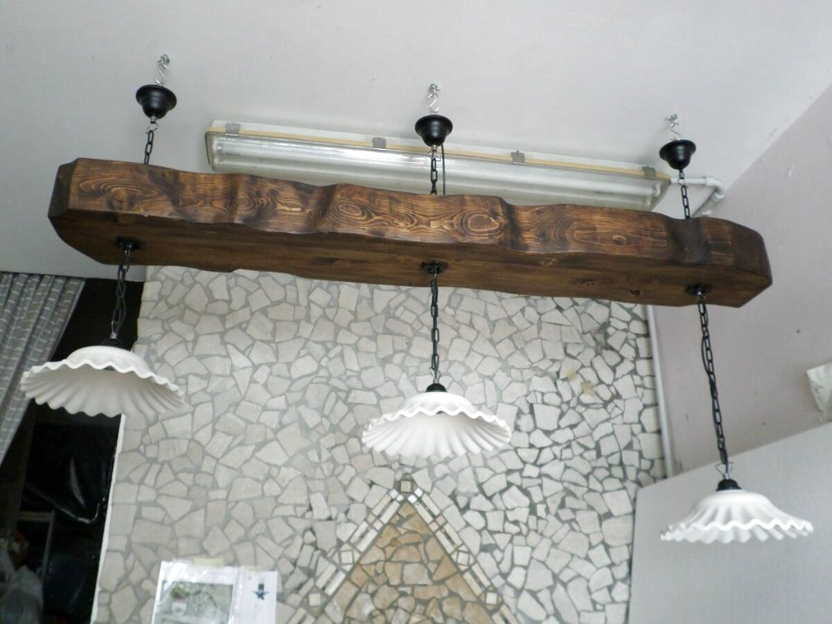 Lampade Da Soffitto Per Taverna lampadari rustici legno
