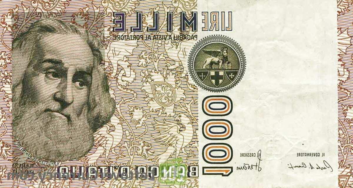 1000 lire marco polo usato