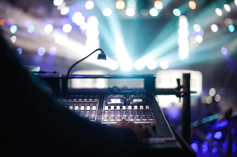 audio luci usato