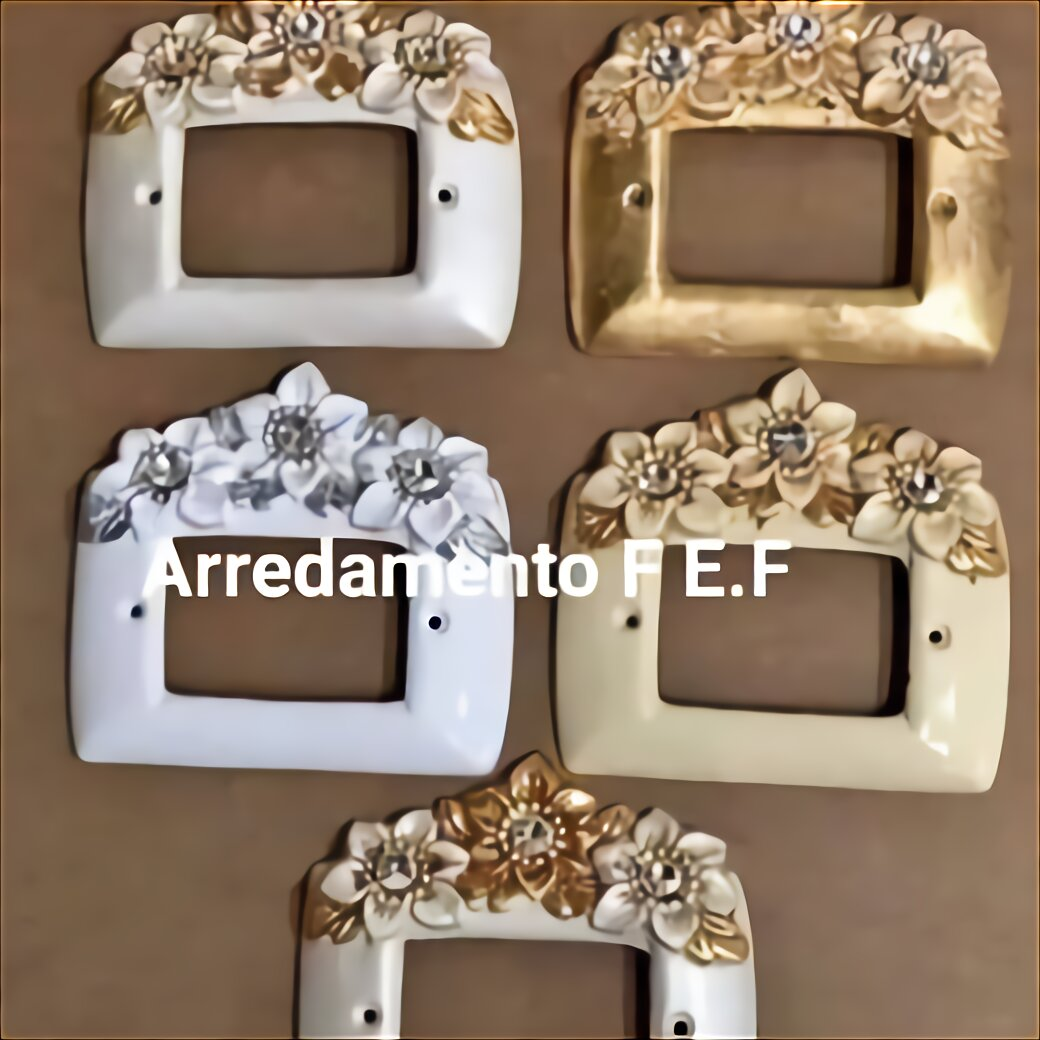 placca copri interruttori in ceramica A 3 FORI TSA