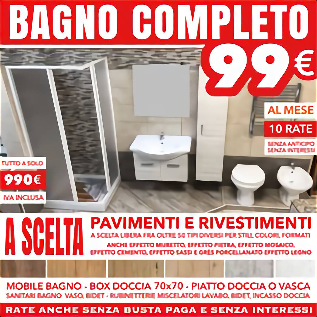 Set Sanitari Bagno Usato In Italia Vedi Tutte I 40 Prezzi