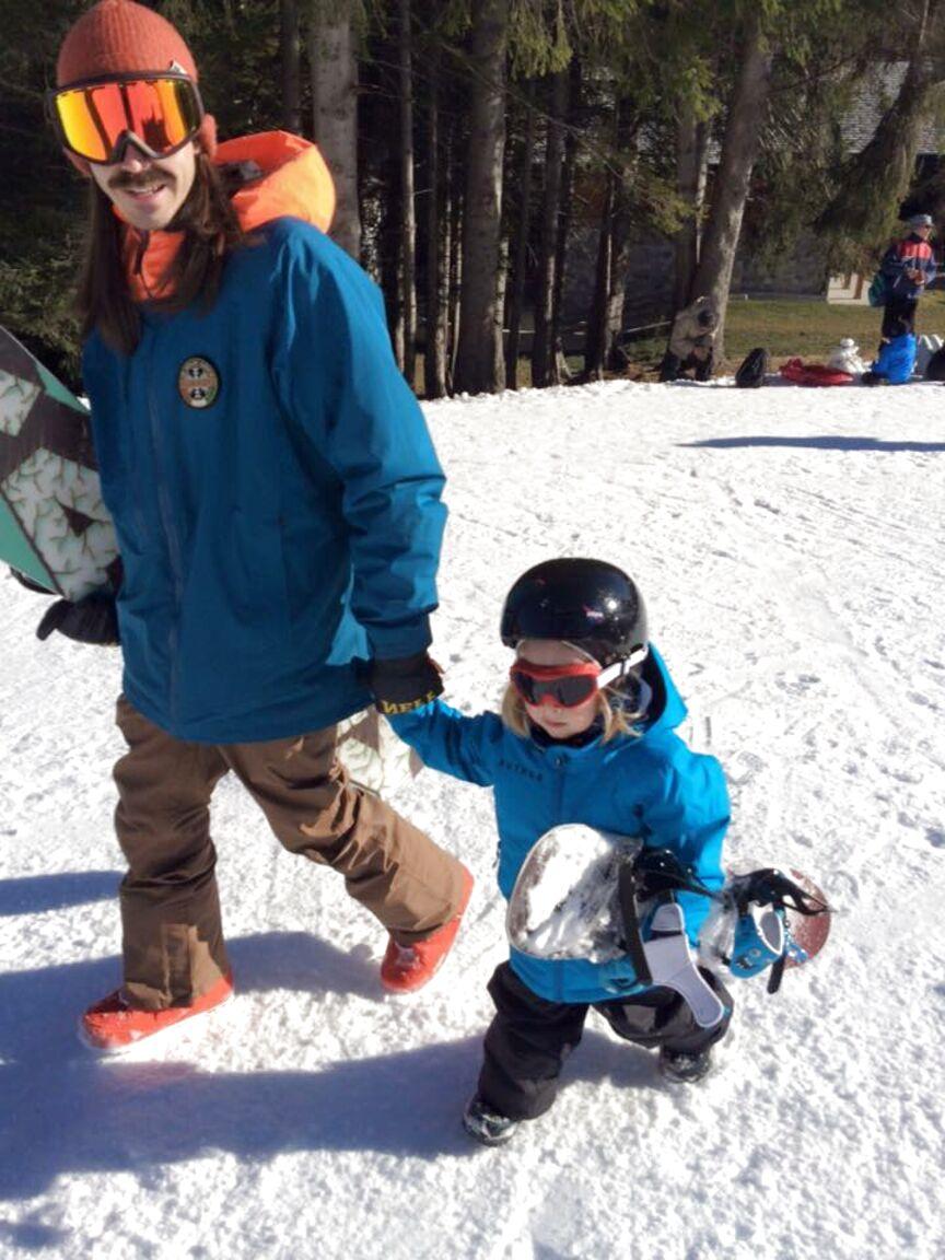 snowboard bambini usato