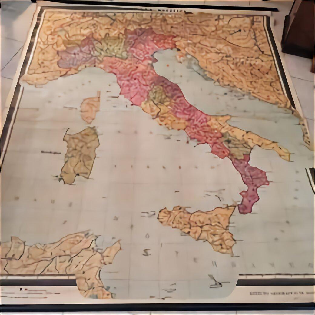 Cartina Italia Politica In Vendita.Cartina Geografica Poster Usato In Italia Vedi Tutte I 34 Prezzi