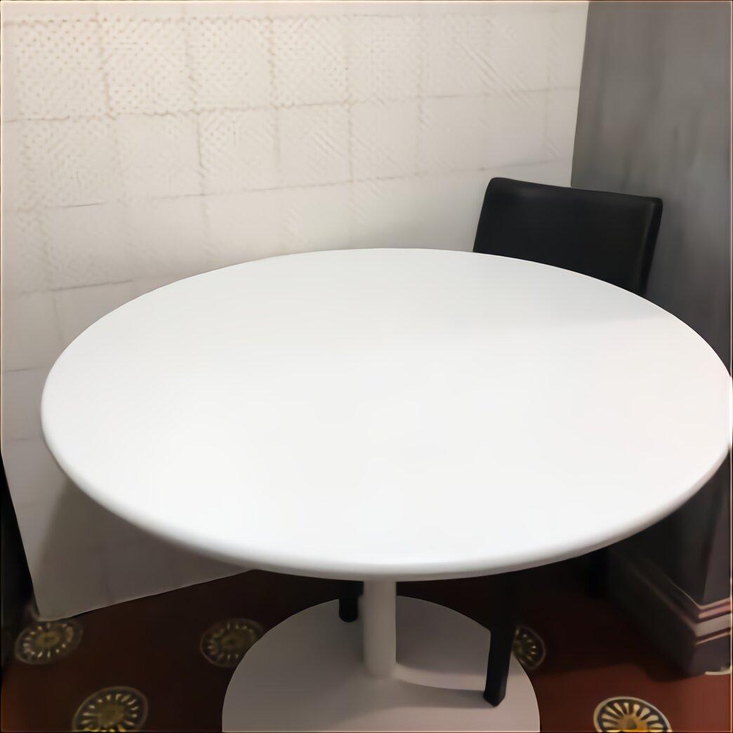 Tavolo Rotondo Bianco Usato.Tavolo Tondo Bianco Ikea Usato In Italia Vedi Tutte I 13 Prezzi