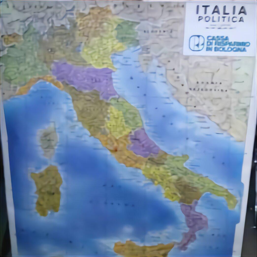 Cartina Politica Italia 1860.Carta Geografica Italia Usato In Italia Vedi Tutte I 40 Prezzi