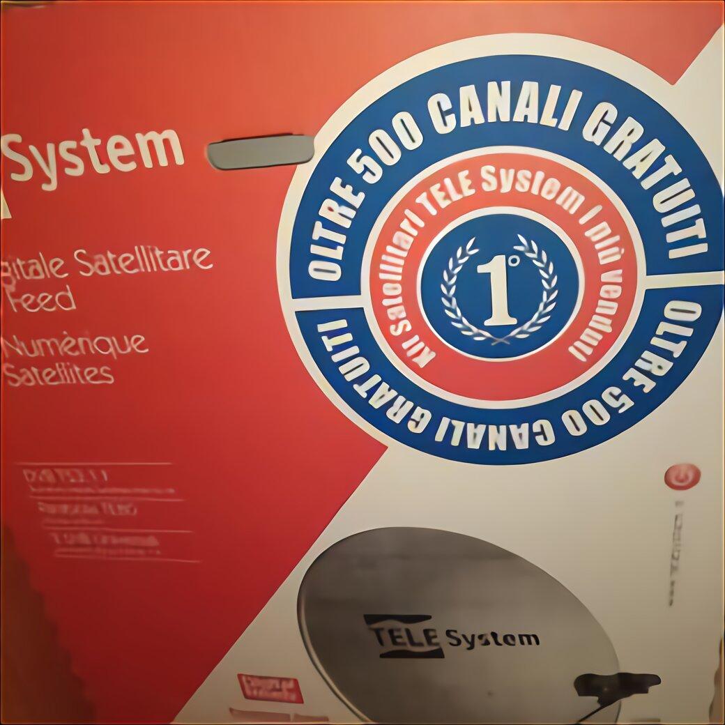 Antenna Satellitare Portatile usato in Italia | vedi tutte ...