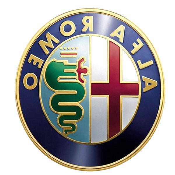 1 STEMMA LOGO PININFARINA ALFA ROMEO SPIDER LATERALE ORIGINALE SCRITTA EMBLEM