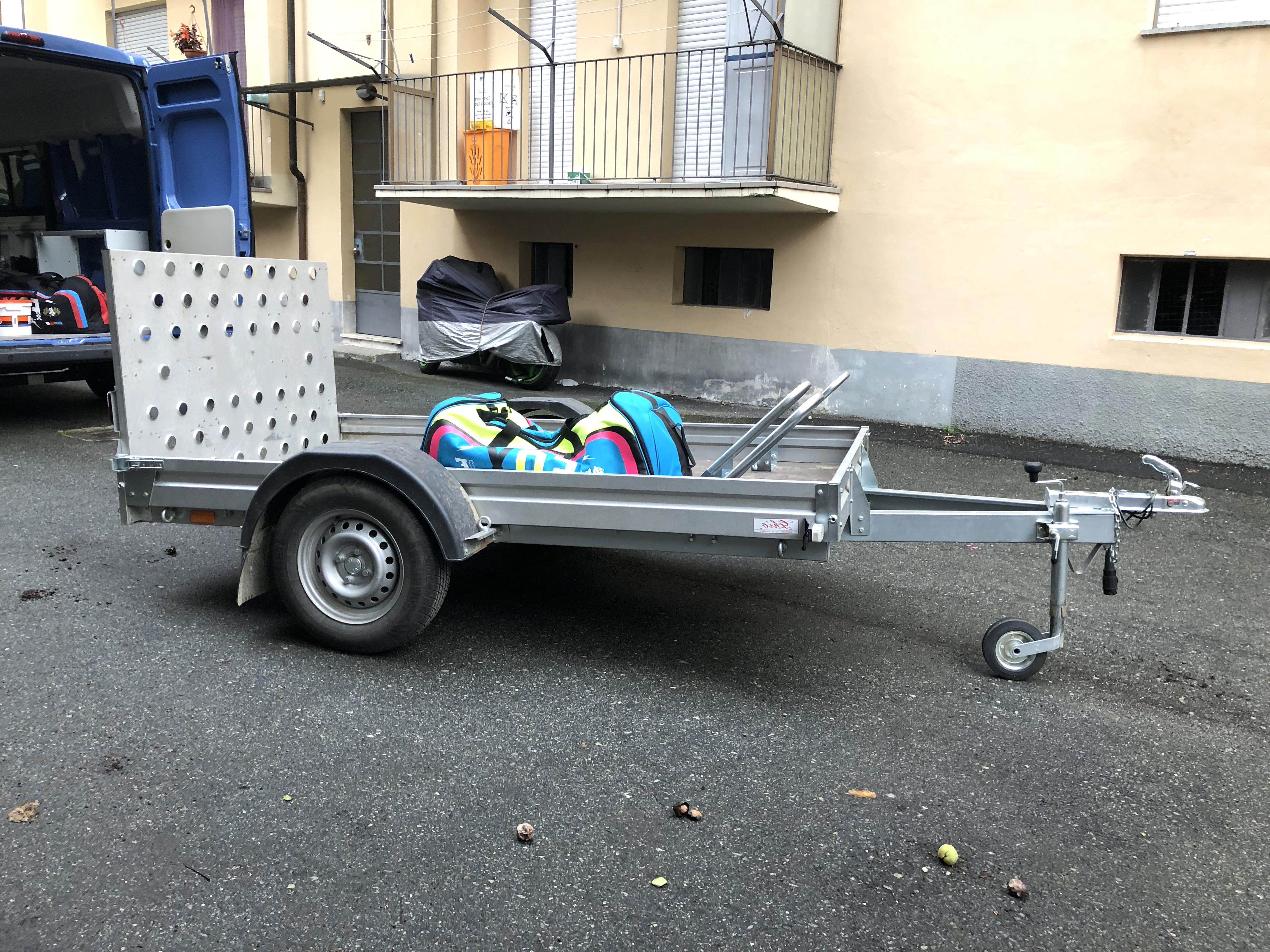 carrelli porta moto scambio usato