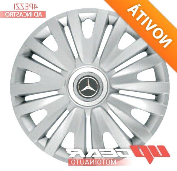 C Set 4 COPRICERCHI SPECIFICI Ricambio 15 B Altre Marche Mercedes Classe A