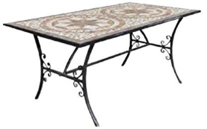 tavoli ferro battuto