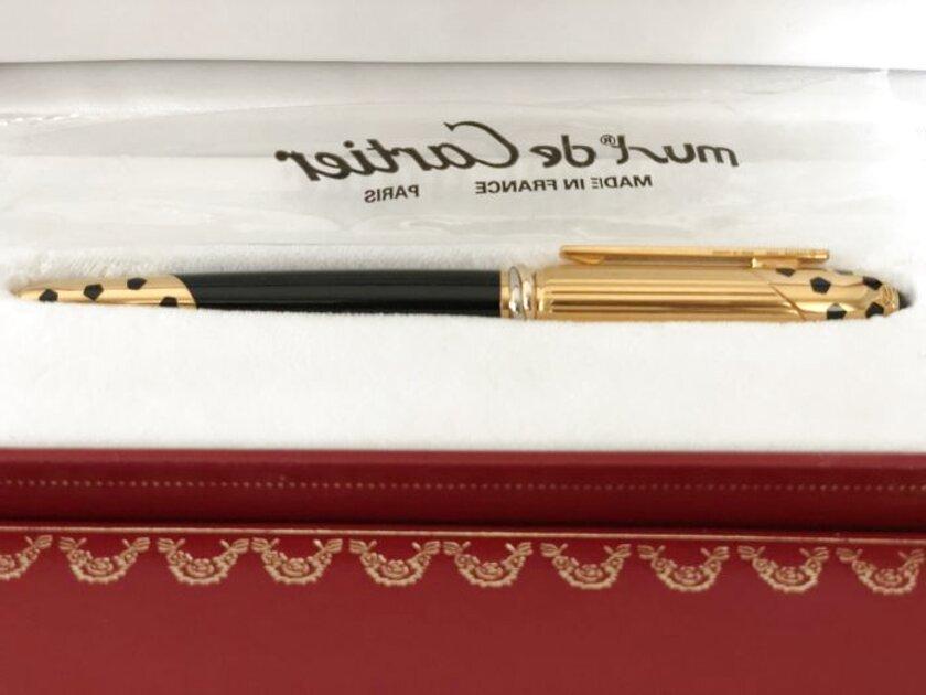 penna cartier panthere usato