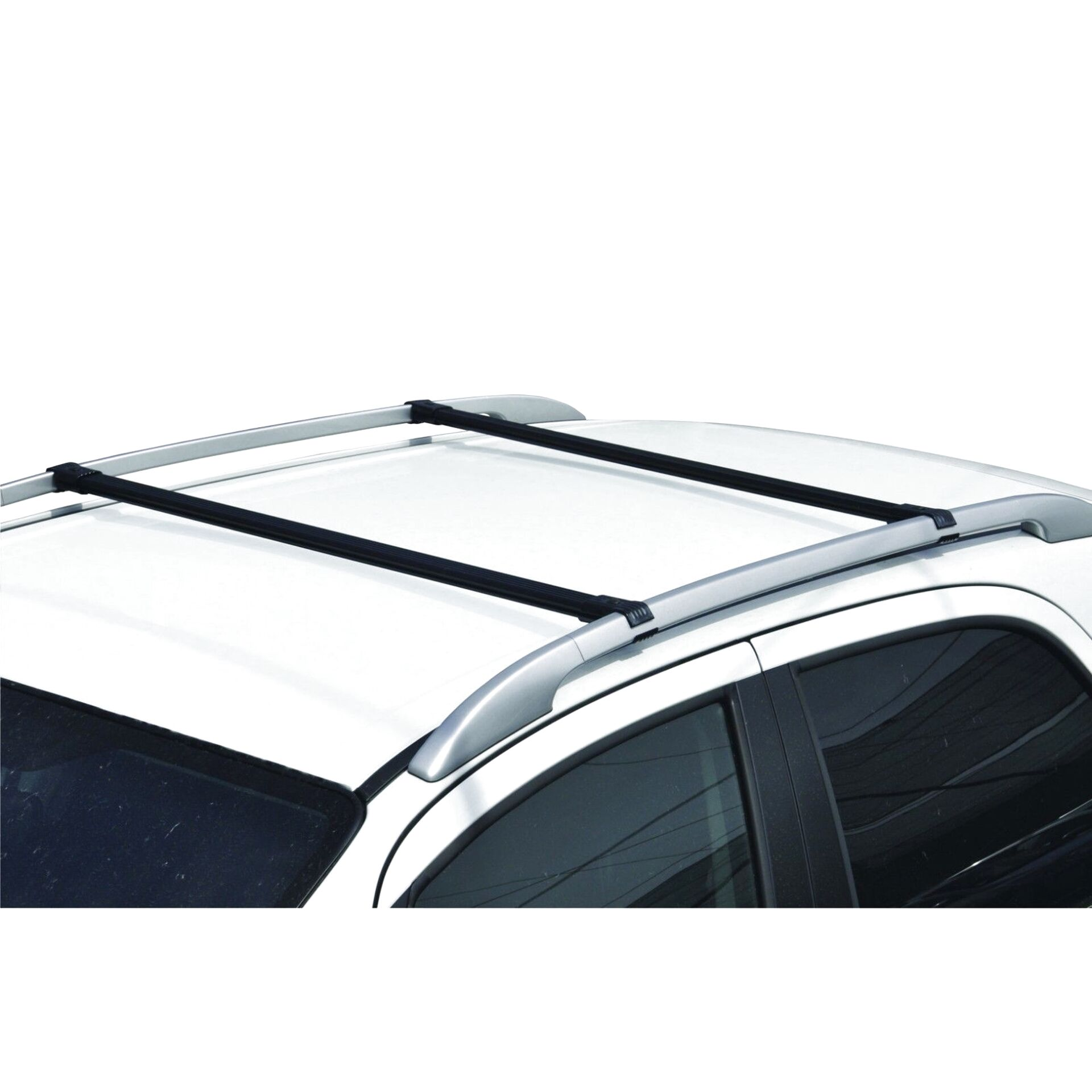 1C Generico Barre portatutto Portapacchi Auto Brio Alluminio per T-Cross 18 con corrimano