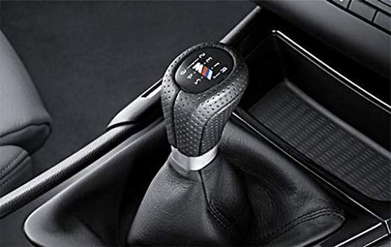 BMW Originale pomello del Cambio in Pelle M Sport