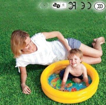 mini piscina gonfiabile usato