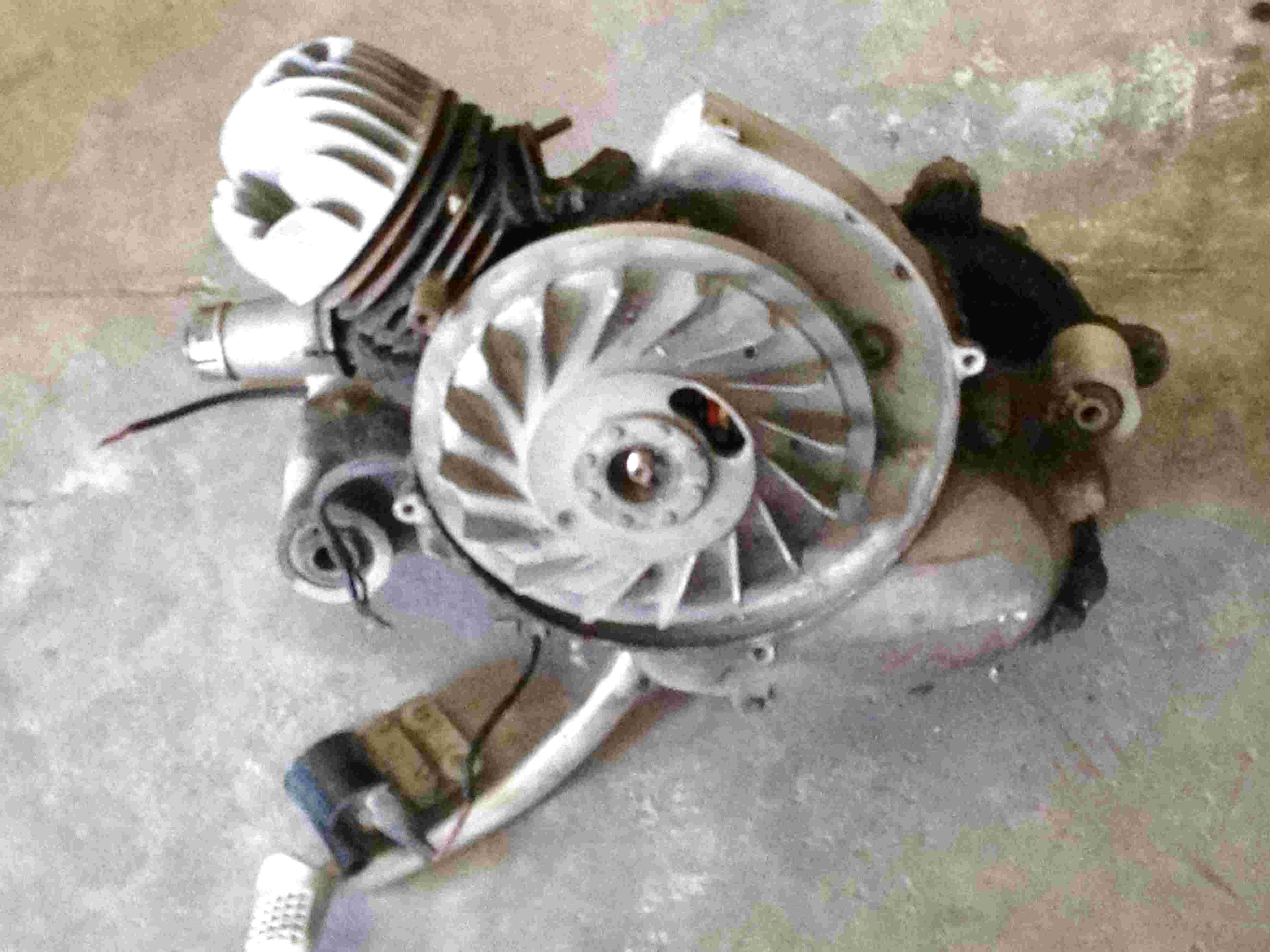 vespa 50 pk blocco motore usato