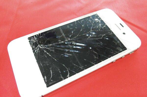 iphone 4s rotto usato