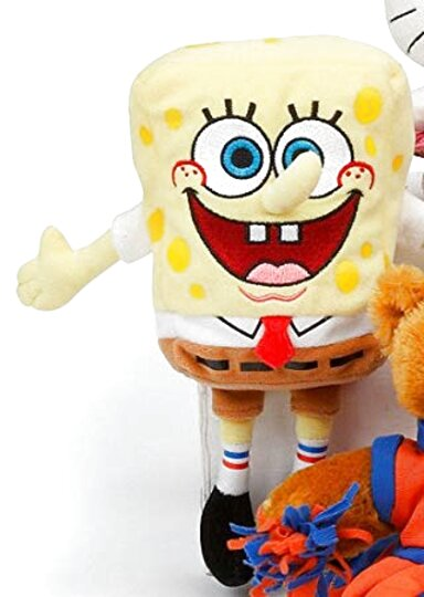 Nickelodeon Patrick Peluche con ventosa 15cm circa