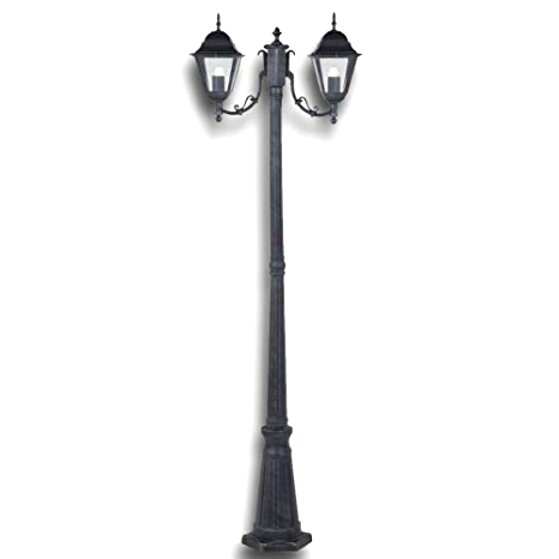 Lampione giardino ghisa usato in italia vedi tutte i 39 for Lampioni giardino disano