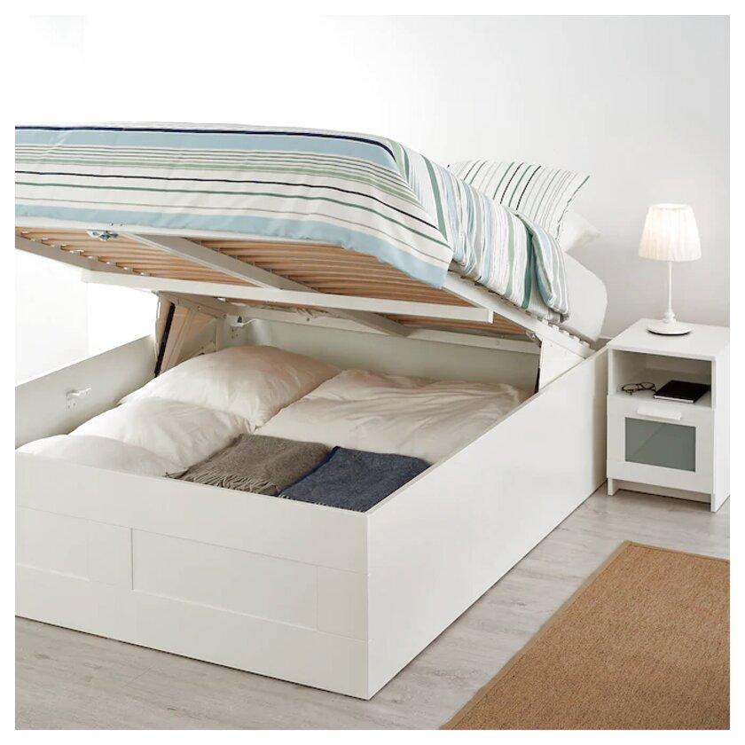 Letto Matrimoniale Con Contenitore Ikea.Letto Contenitore Ikea Brimnes Usato In Italia Vedi Tutte I 10