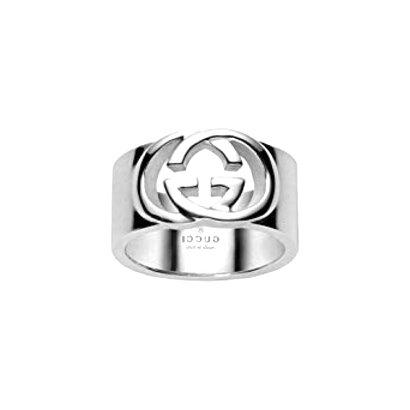 gucci silver anello usato