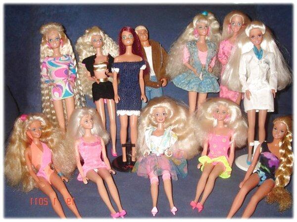 collezione barbie anni 90
