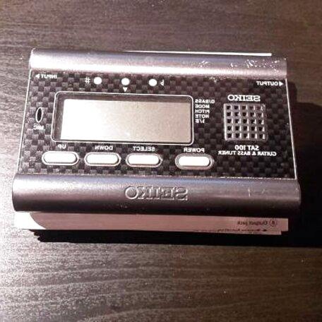 accordatore chitarra seiko usato