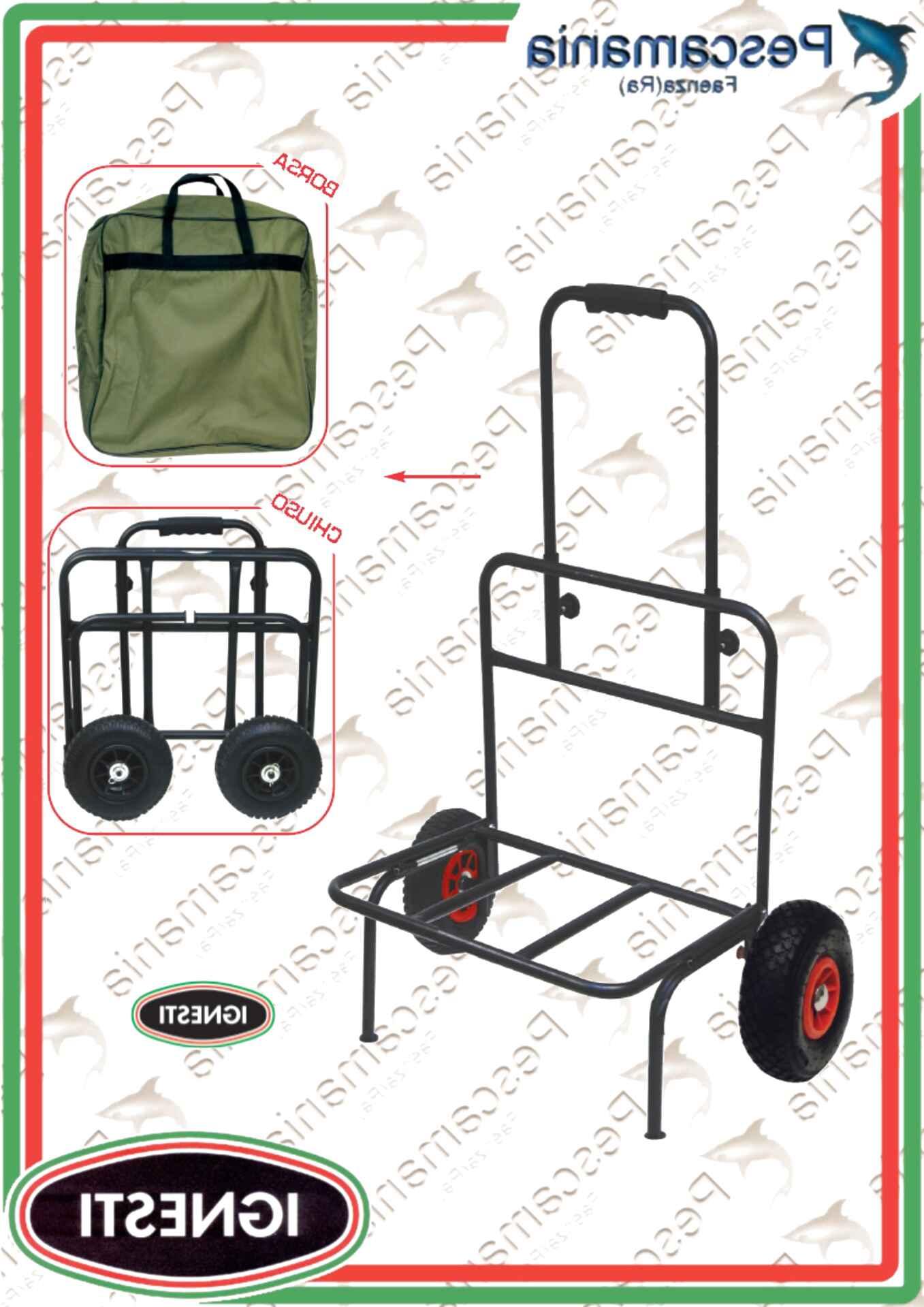 carrello carpfishing usato