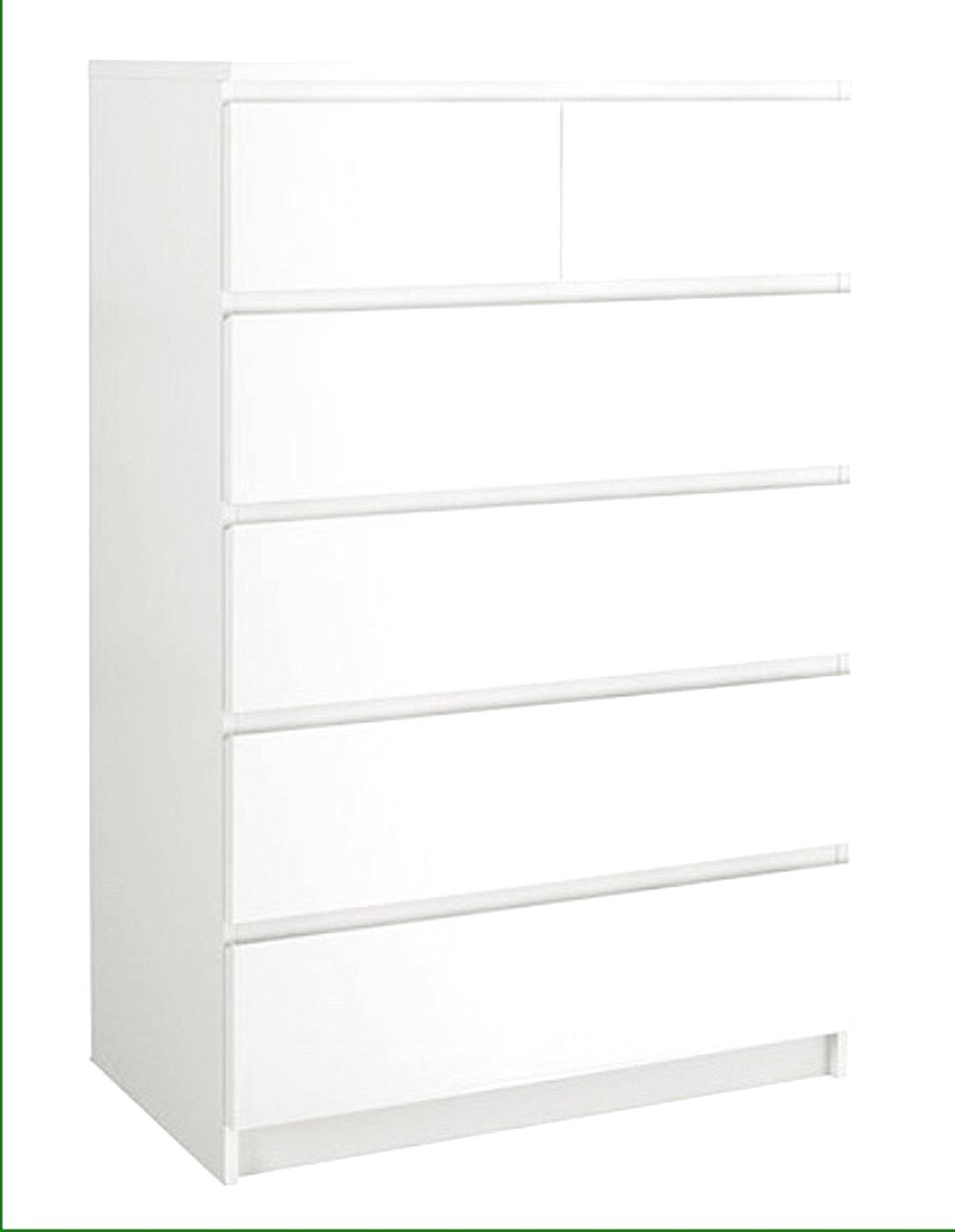 Cassettiera Ikea Malm Usata.Cassettiera 6 Cassetti Malm Ikea Usato In Italia Vedi Tutte I 17