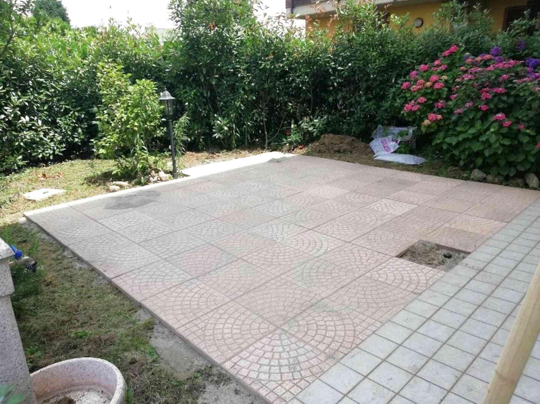 Piastrelle Da Esterno A Incastro pavimento giardino