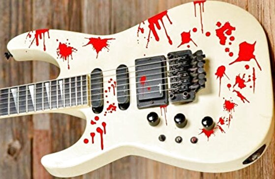 adesivi chitarra usato