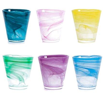 bicchieri colorati usato