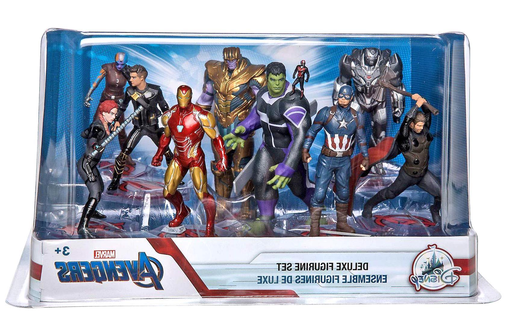 figurine marvel avengers usato