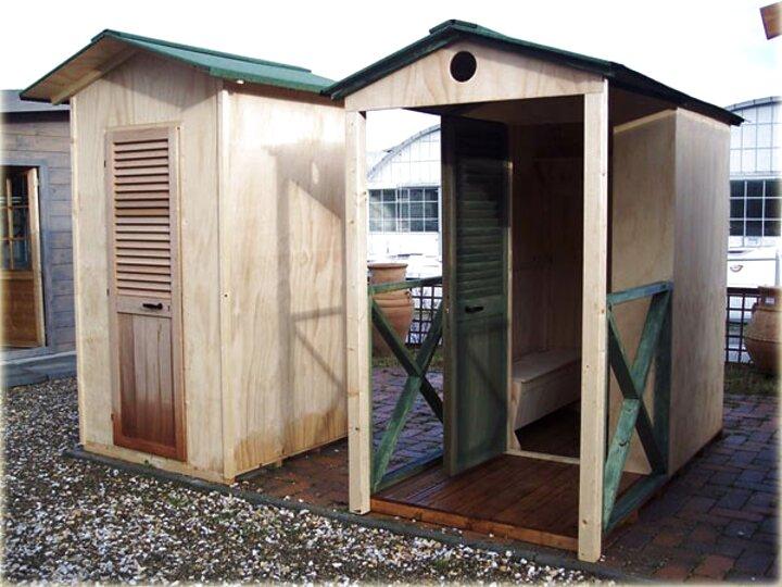 TecTake Poltrona da spiaggia sedia a sdraio beach cabin cabina al mare Grigio//Bianco disponibile in diversi colori