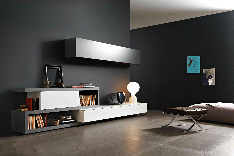 Milano porta tv moderno mobile soggiorno design po