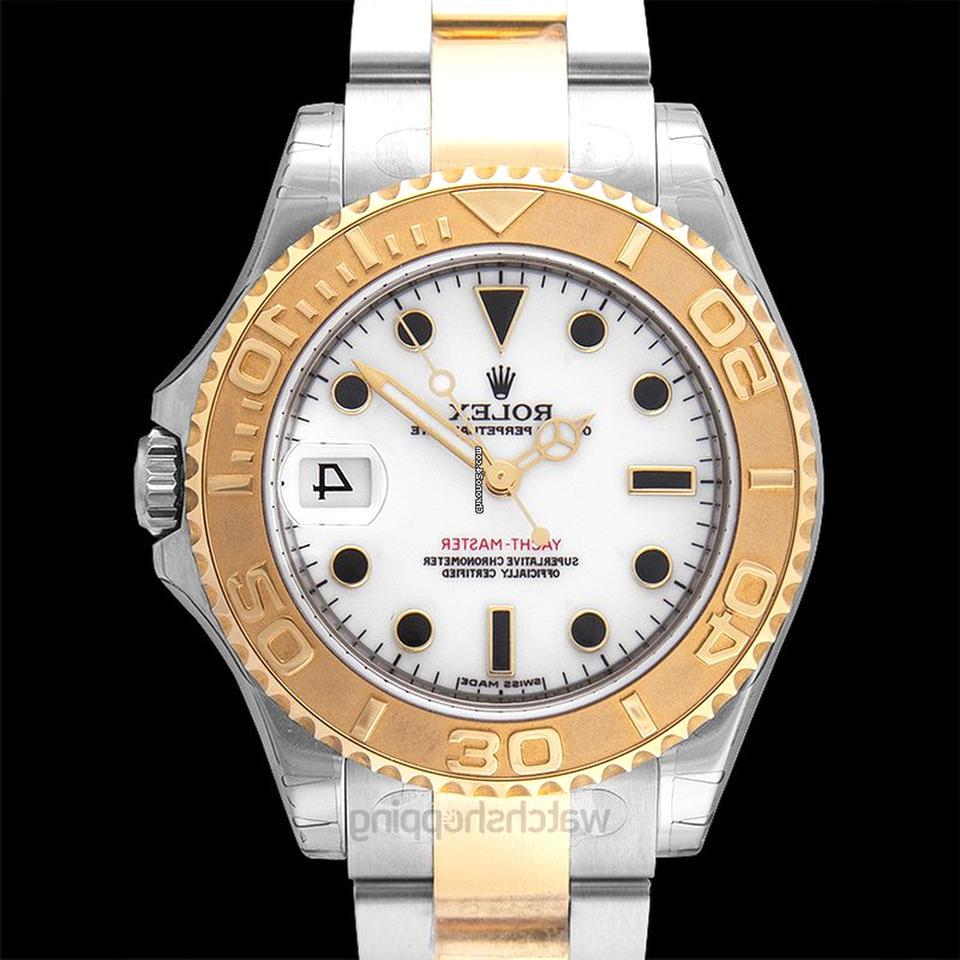 rolex yacht master acciaio oro usato