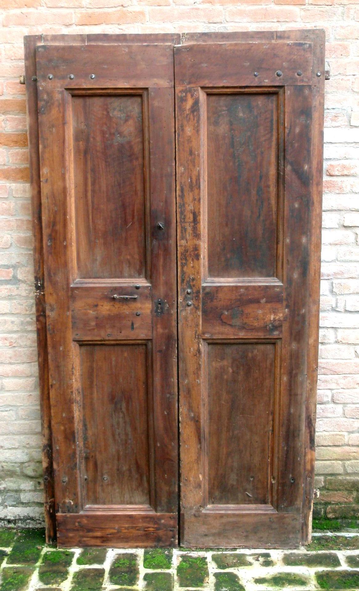 Foto Di Porte Antiche fixkit 6ft (183.0cm) binario per porta scorrevole