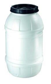 fusto plastica 220 bocca larga lt usato