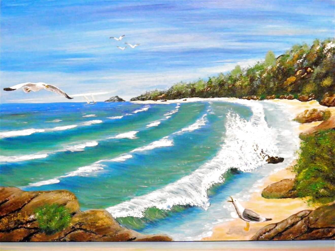 quadri paesaggi marini