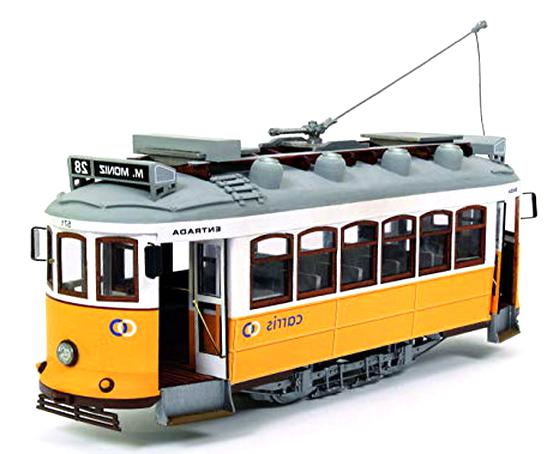 modellino tram usato