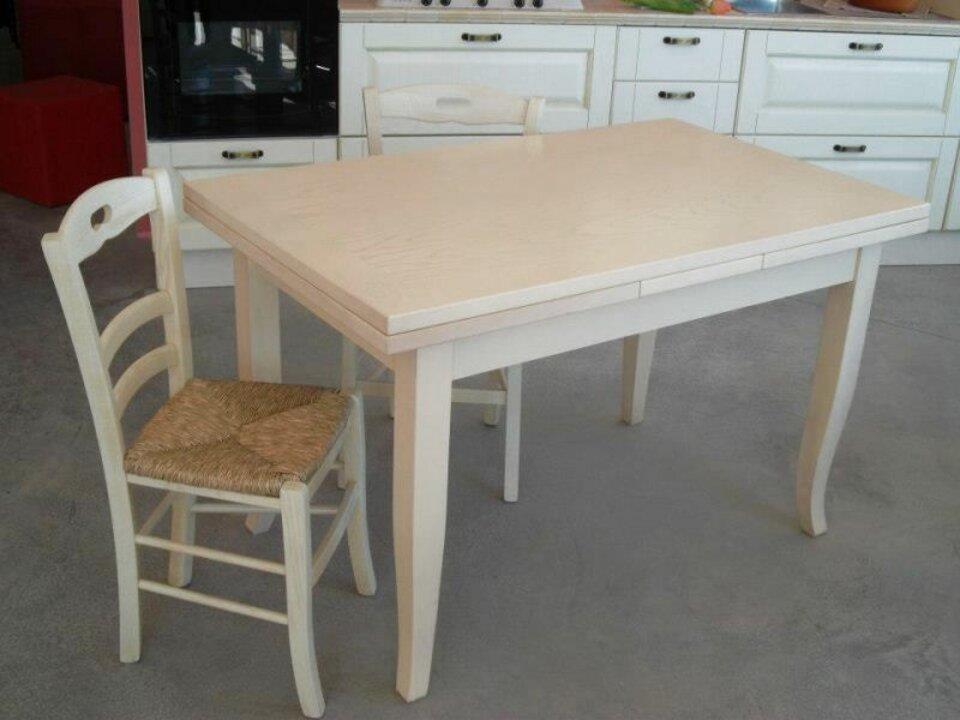 tavolo cucina avorio