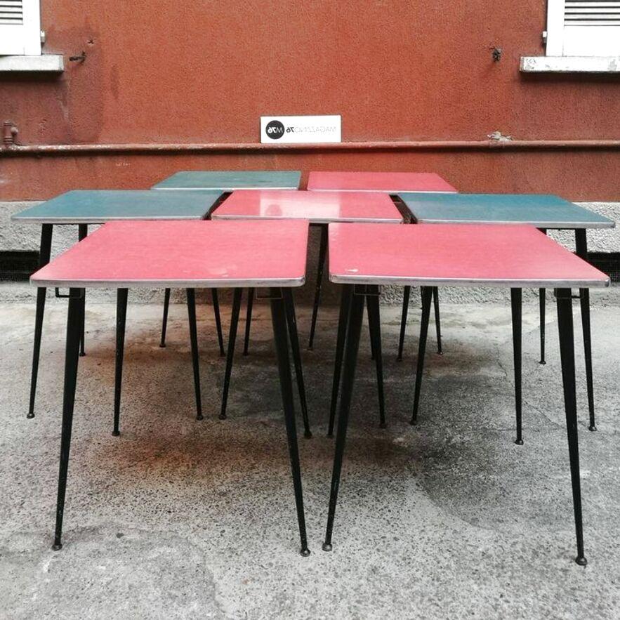 tavoli formica bar usato