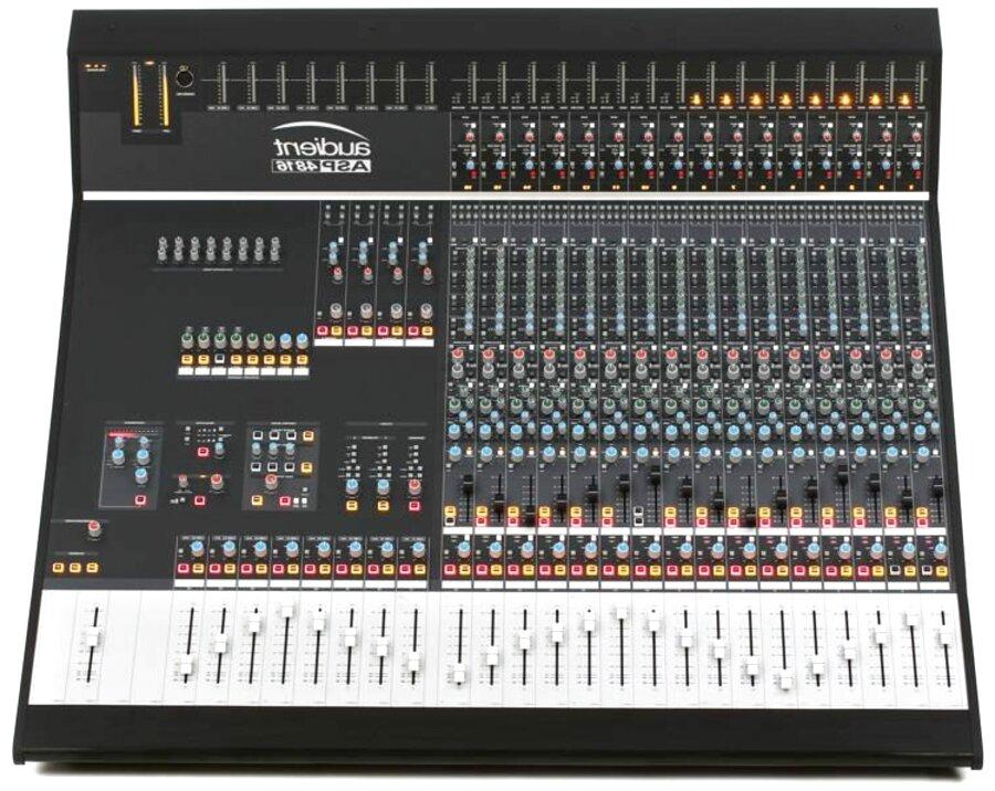 mixing console usato