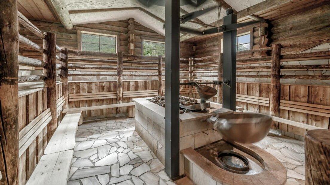 L/&L Asciugamano Kilt Sauna Uomo