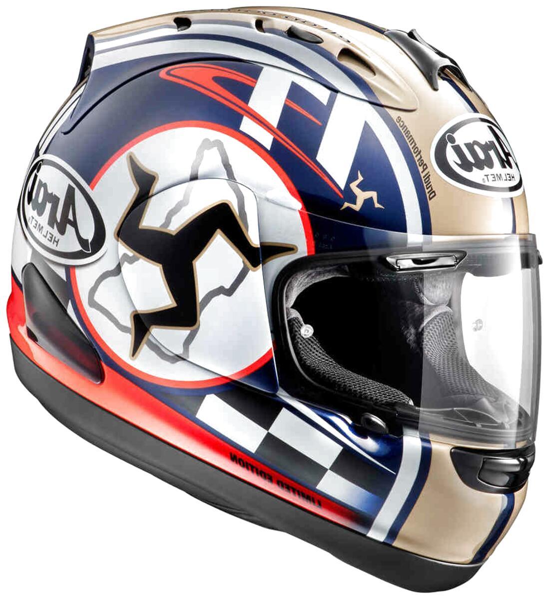 Arai Paranaso casco Arai RX7 GP Nero