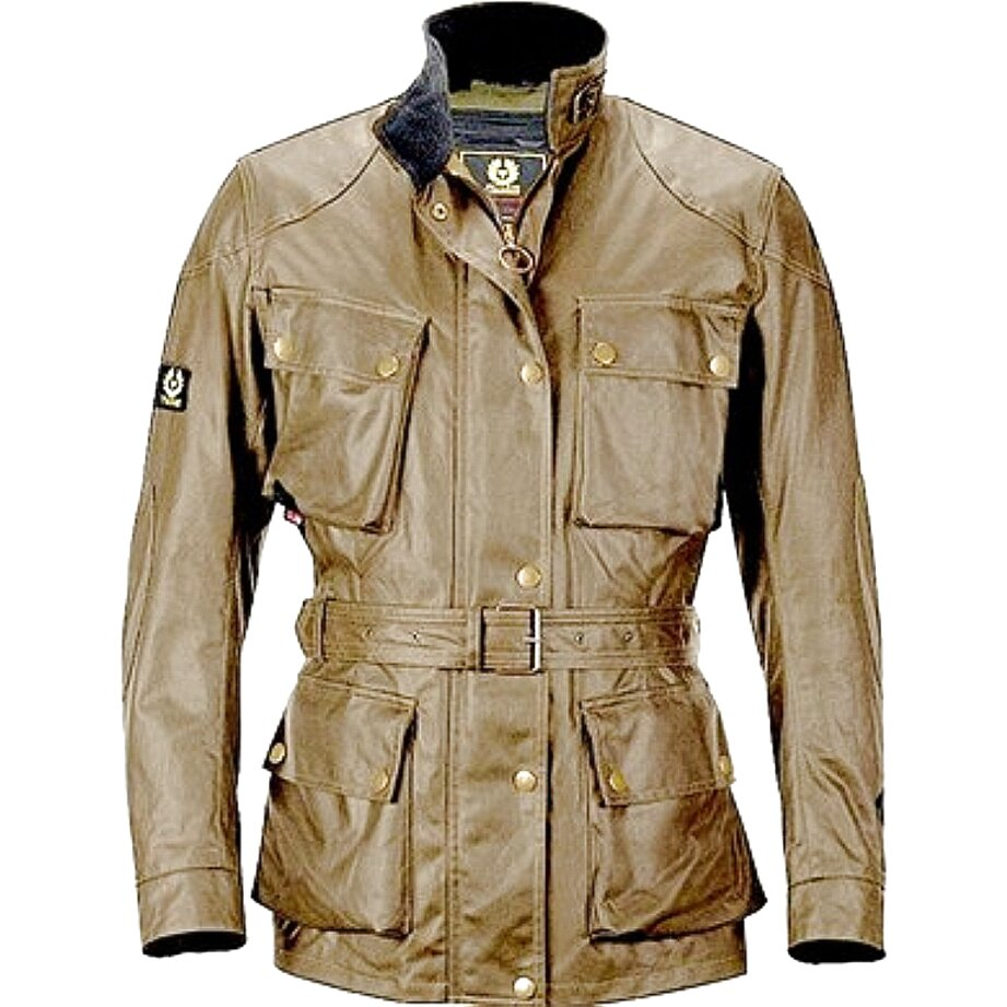belstaff pelle giacca usato