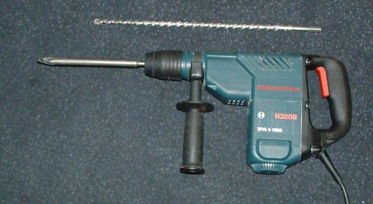 Drill Chuck Bosch GBH 4 dsc GBH 4 dfe PBH 300E Quick Chuck Tool Holder GBH 4 top