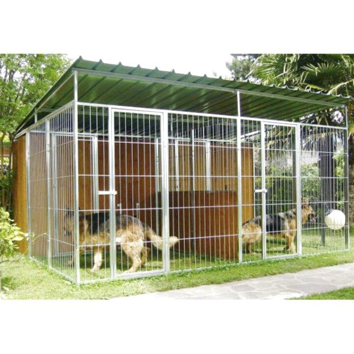 Recinzioni Per Cani In Giardino.Cucce Gabbiette E Recinzioni Recinti Da Esterno Yaheetech Recinto